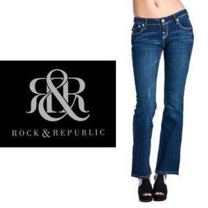Rock & Republic Kiedis Bootcut Jeans - Size 32